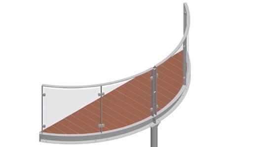 Balkon – model Miami 2