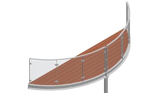 Balkon – model Miami 2-2