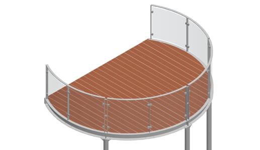 Balkon – model Miami 4