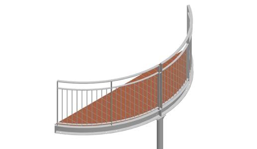 Balkon – model Nevada 2