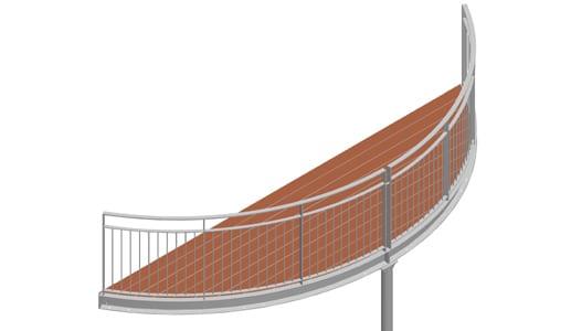 Balkon – model Nevada 2-3